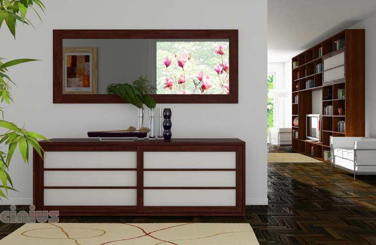Cinius meubles de rangement avec portes coulissantes for Meuble avec porte grillagee