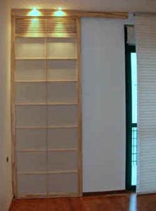 porte coulissante. Black Bedroom Furniture Sets. Home Design Ideas