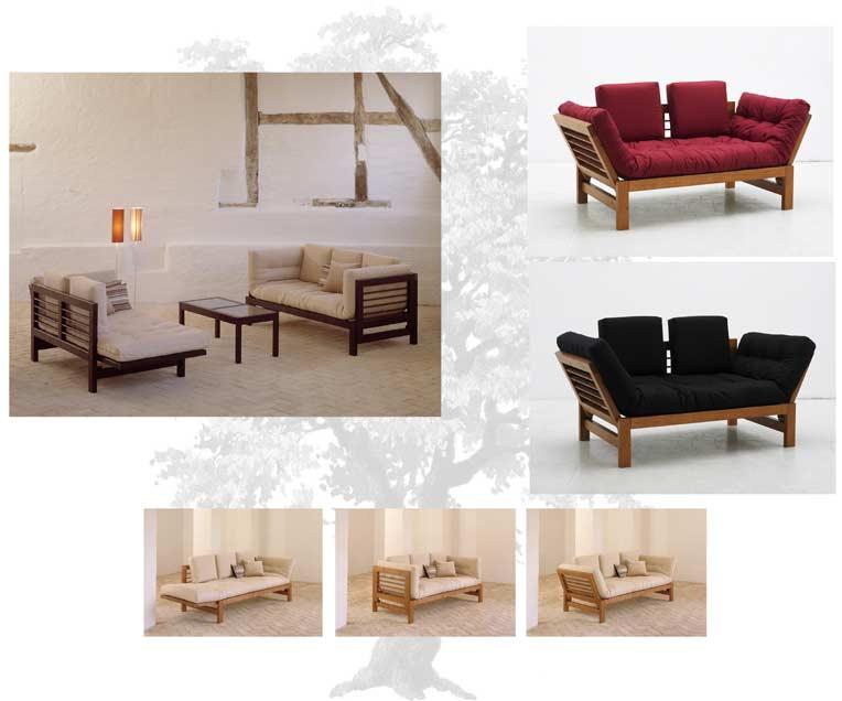 Divano letto futon idee per il design della casa - Letto giapponese ikea ...