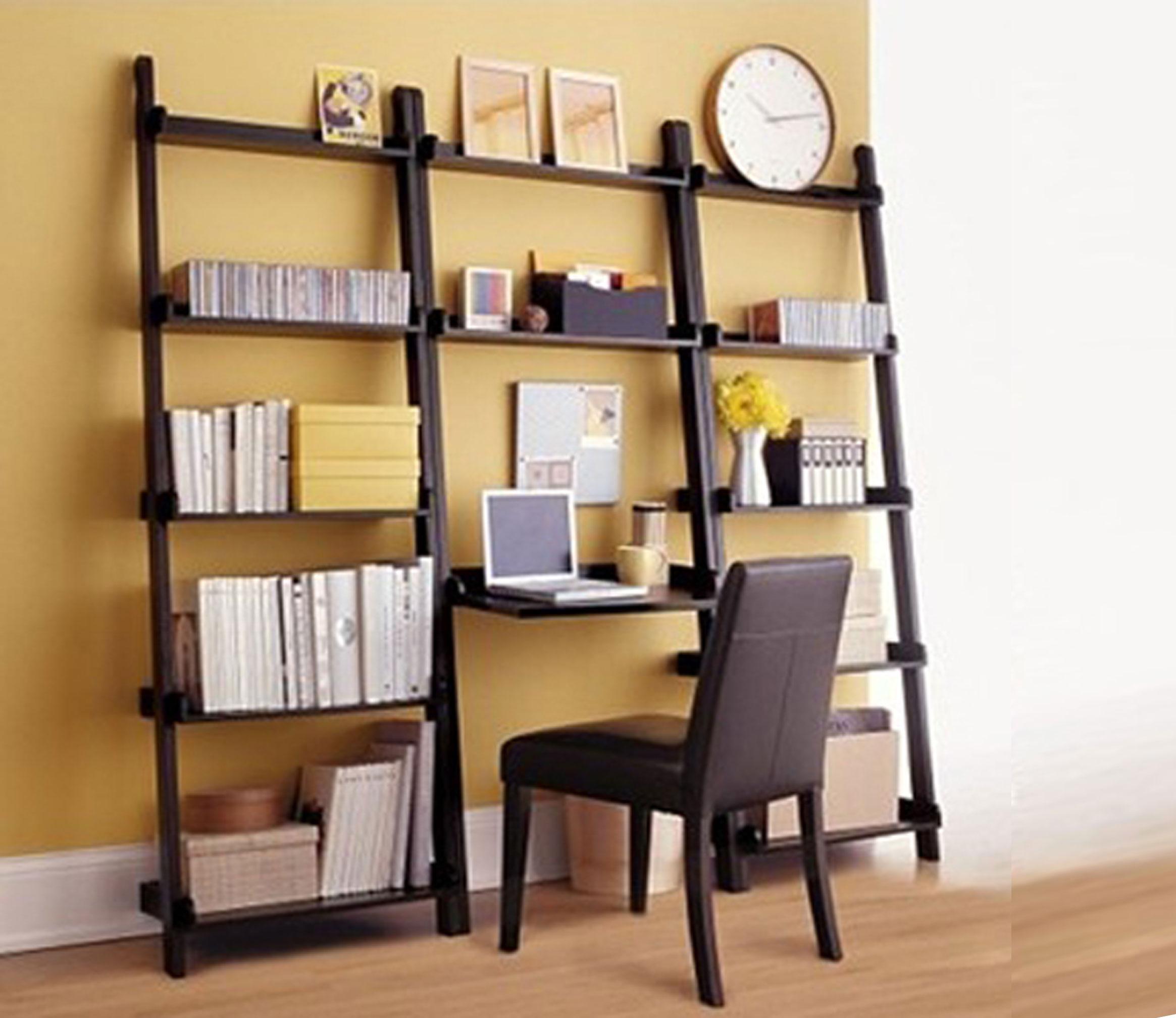Librerie componibili e moderne in legno per casa e ufficio - Scalette per librerie ...