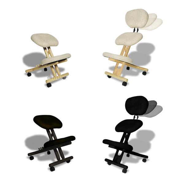 Sedie cinius sedute ergonomiche poltrone e sgabelli for Sedia ufficio postura