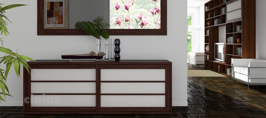 Cinius arredamento ecologico in legno massello for Casa e stile arredamenti