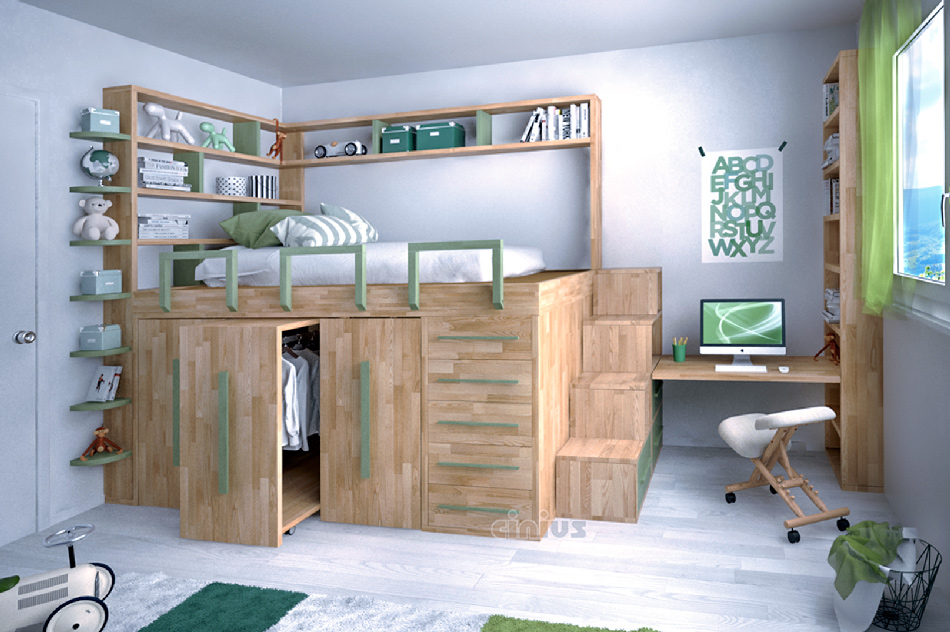 Space Saving bed Impero