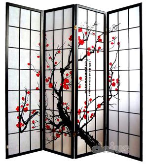 separ giapponesi cinius paravento moderni in legno e